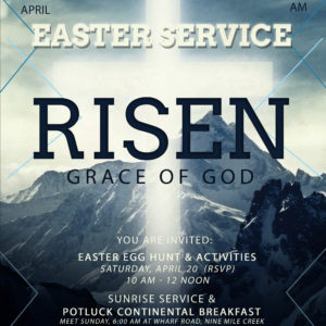EASTER WEEKEND CELEBRATION