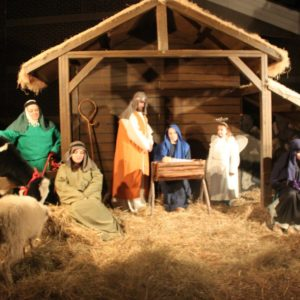 Drive Thru Living Nativity