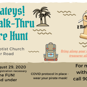 Walk-Thru Treasure Hunt!